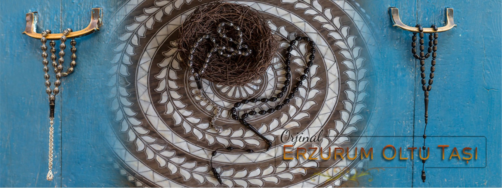 Telkari Karpuz Yarma Gümüş İşleme El Yapımı Orjinal Oltu